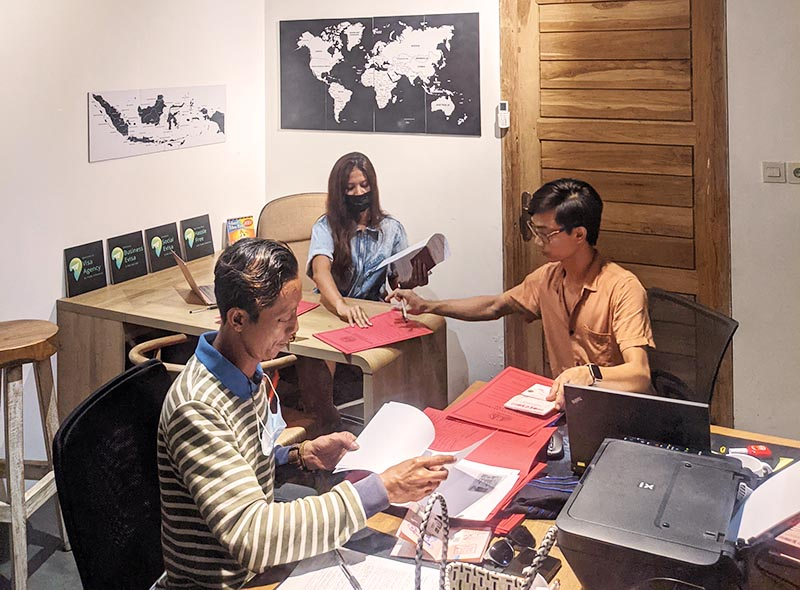 Apply your visa to Bali with Visa Agency Flado Indonesia